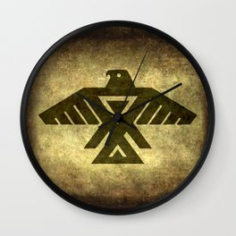 Thunder bird or Power bird Wall Clock