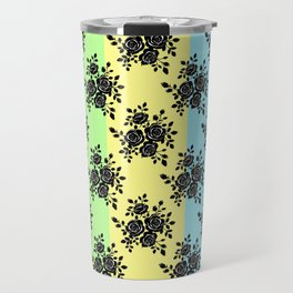 Rosy Black Travel Mug
