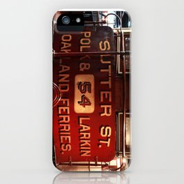 S.F. Cable Car iPhone Case