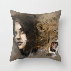 kingdom of beauty Throw Pillow