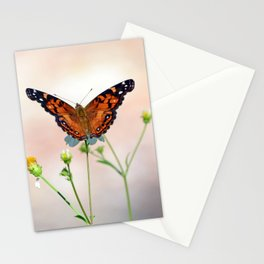 Compelling Enthralling Winged Insect Nourishing Blossom Nectar UHD Stationery Cards