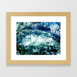 Artic Sea Framed Art Print