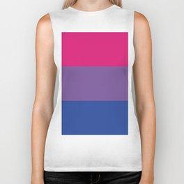 Bisexual Pride Biker Tank