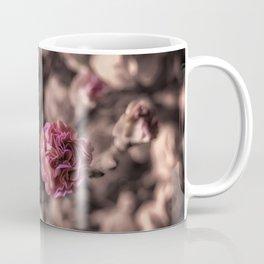 Sweetness mini carnations in pink antiqued look Coffee Mug