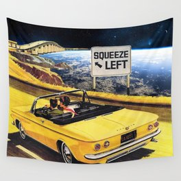 Squeeze Left Wall Tapestry