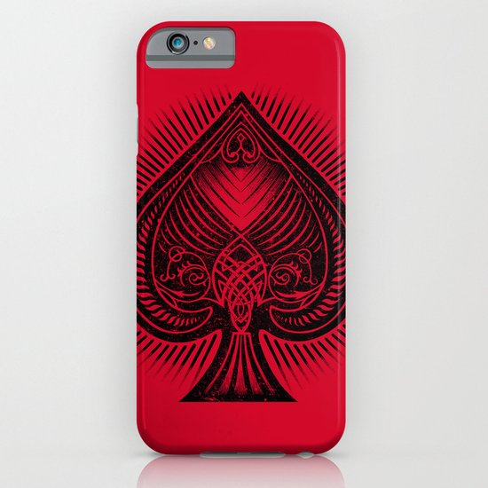 Lucky Spade iPhone & iPod Case