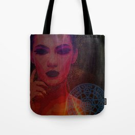 Dark Lady of the Forest of the Damned Tote Bag