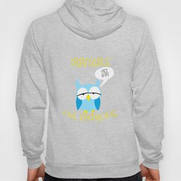 Irritable Owl Syndrome Get Lost Nocturnal Pun Hoody