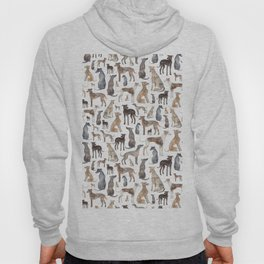 Greyhounds and Whippets Hoody