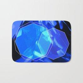 Blue crystal Bath Mat