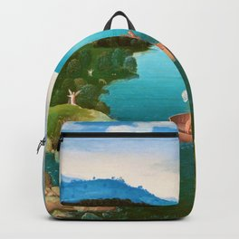 Joachim Patinir - Crossing the River Styx - Digital Remastered Edition Backpack