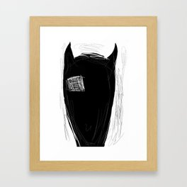 stg Framed Art Print