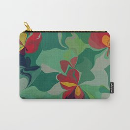 Flowers in the Wind 6 Carry-All Pouch
