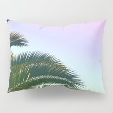 Palm Leaves  - Tropical Sky - Chilling Time Pillow Sham