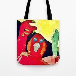 Temptation of Christ in the Desert Tote Bag