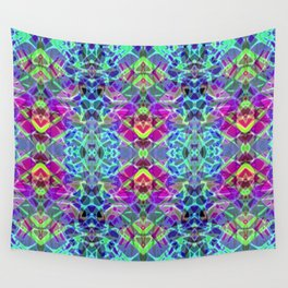 Fractal Art Stained Glass G304 Wall Tapestry