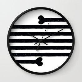 (Very) Long Bone Wall Clock