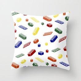 Building Blocks Bonanza Throw Pillow