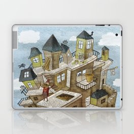 The house of secrets Laptop & iPad Skin