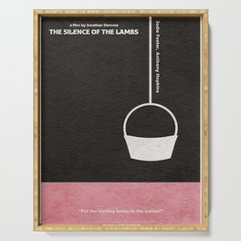 The Silence of the Lambs Serving Tray