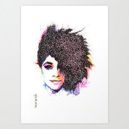 LIANNE LA HAVAS Art Print