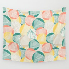 Tangent (Teal) Wall Tapestry