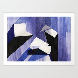 Land Composition 3 Art Print