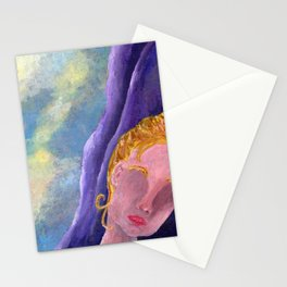 Her, Looking Down Stationery Cards