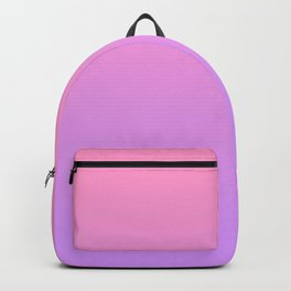 Pink and Purple Gradient Backpack