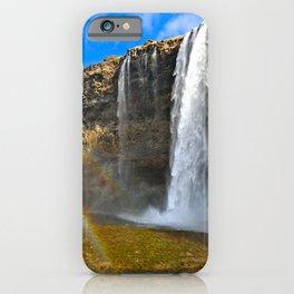 Icelandic Waterfall iPhone Case