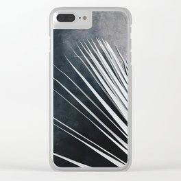 Dried Palm Clear iPhone Case