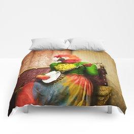 Banjo Birdy Plucks a Pretty Tune! Comforters
