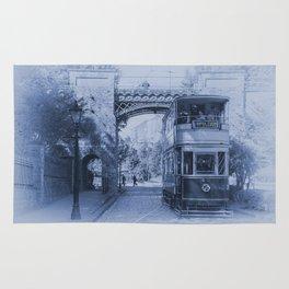 Tram 40 in blue Rug