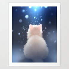 Winter is... Art Print