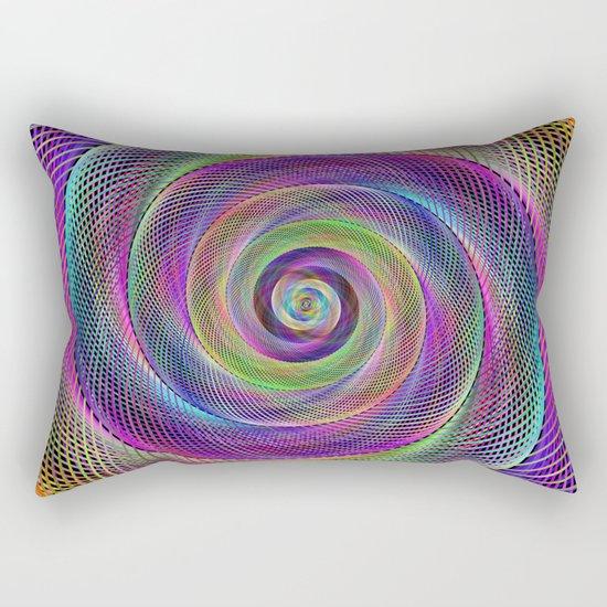 Spiral magic Rectangular Pillow