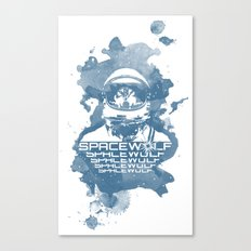 Spacewolf Canvas Print