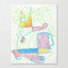 Hybrid 4 Canvas Print