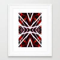 demon Framed Art Prints featuring Demon by Tom Sebert