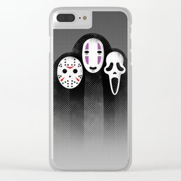 The Three MASKeteers Clear iPhone Case