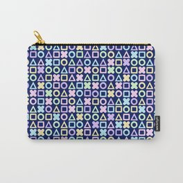 A weird game of pastel tic tac toe in the dark 2 Carry-All Pouch