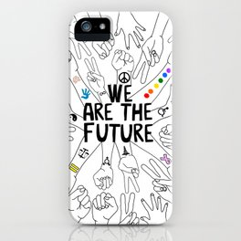 We Are The Future Tattoos Part 1 iPhone Case