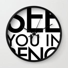 See You In Reno - BIG Wall Clock