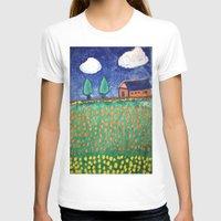 farm T-shirts featuring Dutch Farm by Lynlea Oppie