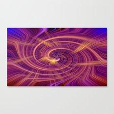 Spiral Wirlpool Canvas Print
