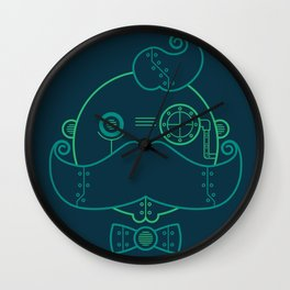 Old Fashioned Robot Wall Clock
