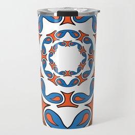 abstract mandala tribal Travel Mug