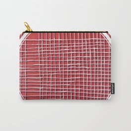 Left - lined circle Carry-All Pouch