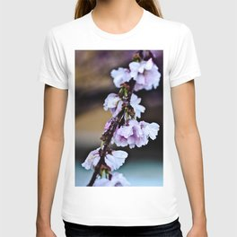 Cherry Blossom Flowers After Rain T-shirt