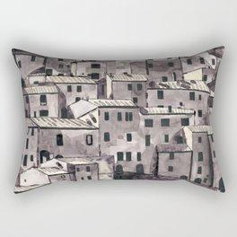 European Hill Town Rectangular Pillow