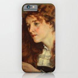 """Gustave Courbet """"Jo, La Belle Irlandaise"""" iPhone Case"""